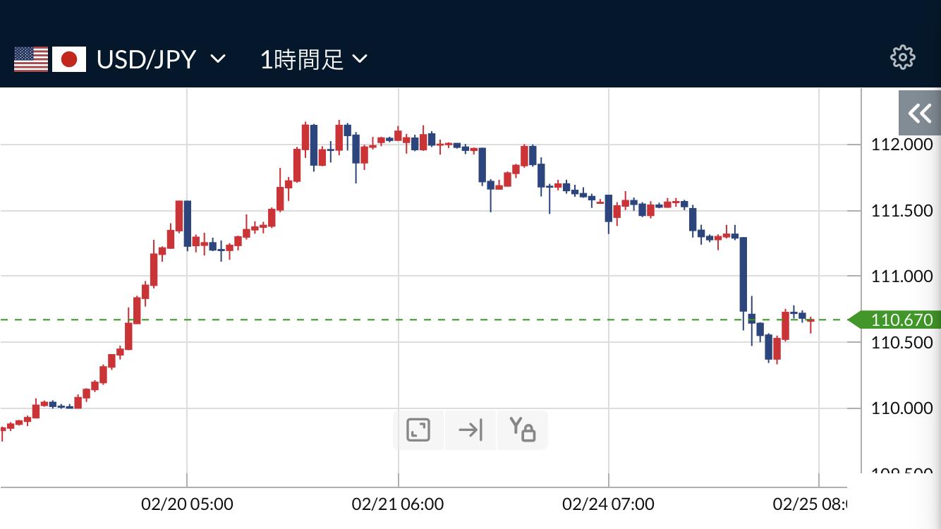 コロナ懸念とNY株安と円高